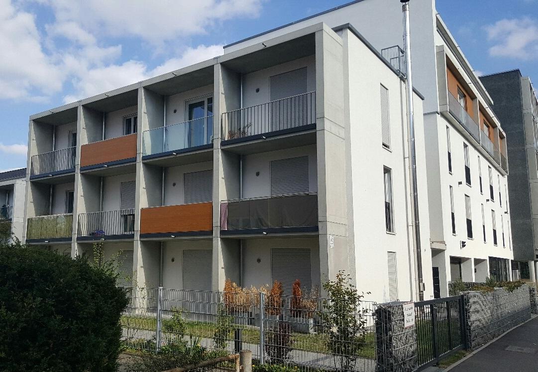 """""""The Fizz"""" in Freiburg – Bauabschnitt II  / 2014 – 12 möblierte Apartments mit ca. 25m²"""