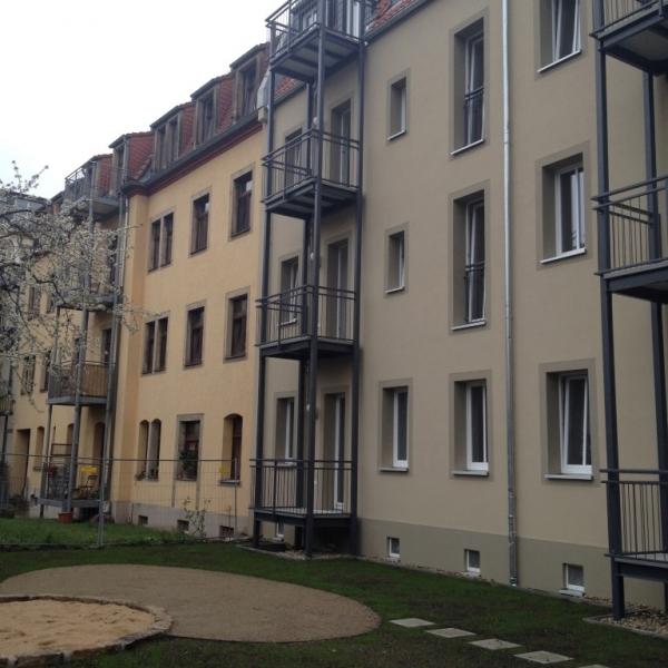 Königsbrücker Straße 26a+b in Dresden / 2014 – 19 WE mit ca. 38 – 58 m²