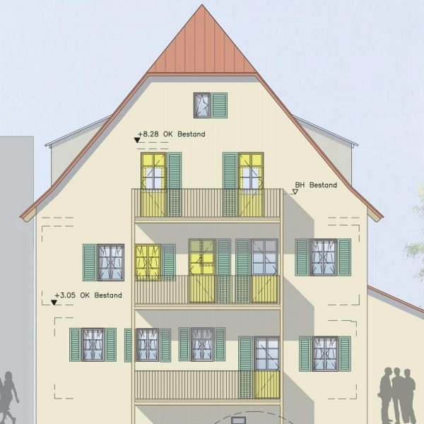 """Rössle"" – Denkmalobjekt in Filderstadt Bonlanden"