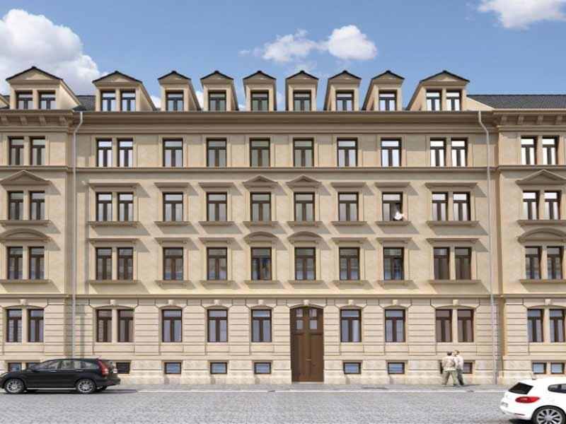 Oederaner Straße 5 in Dresden / 2017 – 15 WE von ca. 34 – 104 m²