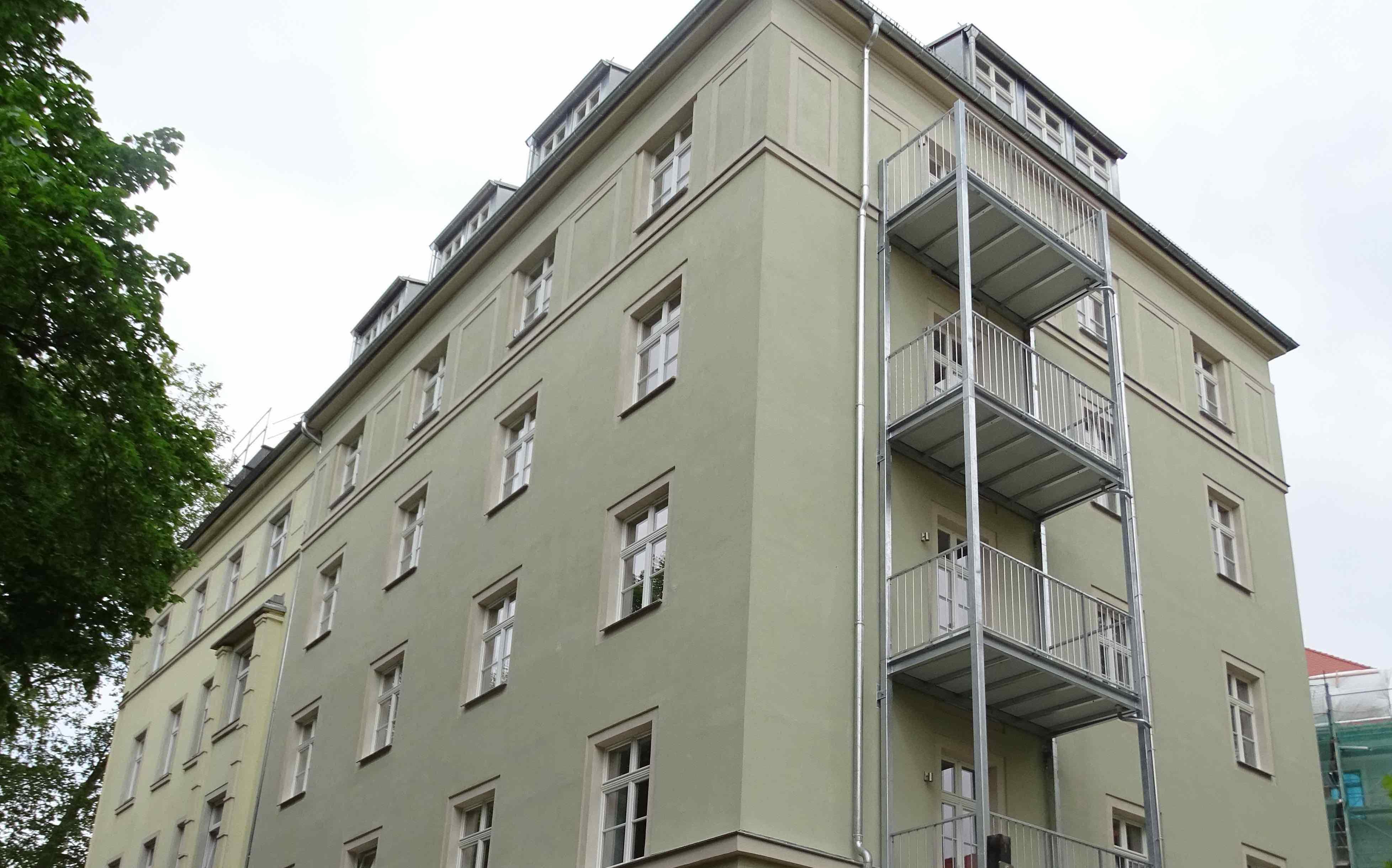 Baluschkestraße 3 in Dresden  / 2016  – 11 WE von ca. 32 – 117m²