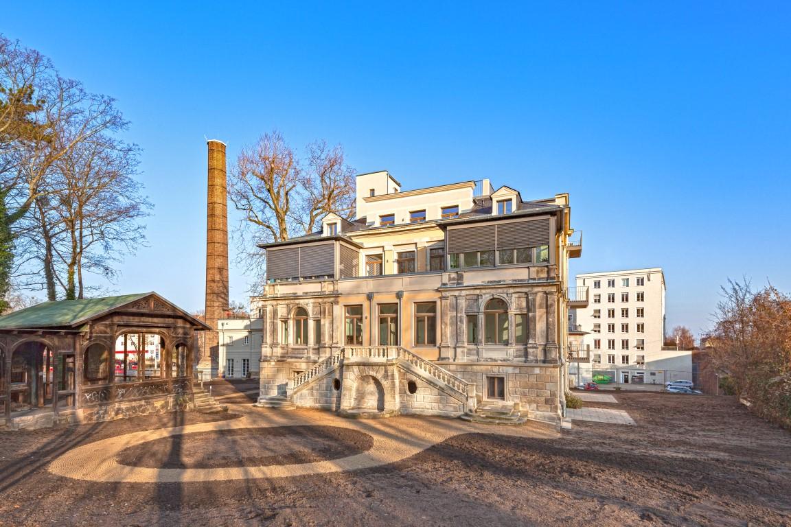 Villa Bienert in Dresden /2017 – 11 WE mit ca. 41-118 m²
