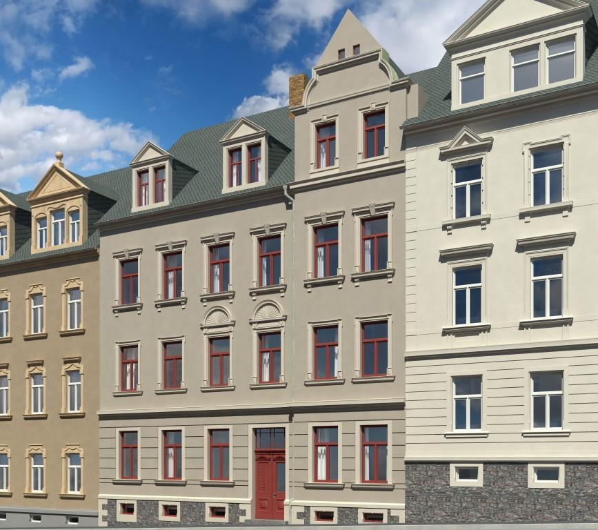 FREIBERG – Denkmalobjekt Schönlebestraße 25